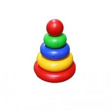Пирамидка Малышок - 4 Шар, 17 см