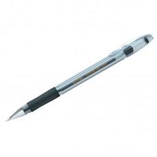 Ручка гелевая черная 0,5мм Berlingo Techno-Gel Grip, грип