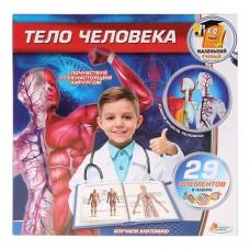 Игровой набор – Опыты: тело человека, 29 деталей