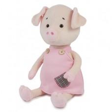 Мягкая игрушка Свинка Нюша в платье, 27 см