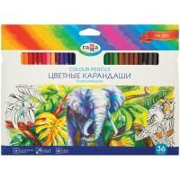 Цветные карандаши 36 цв. Гамма Классические, заточен.