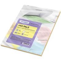 Бумага для принтера цветная OfficeSpace pale mix А4, 80г/м2, 100л. (5 цветов)