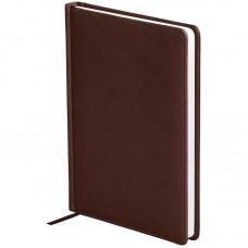 Ежедневник недатированный A5 136л кожзам OfficeSpace Winner, коричневый