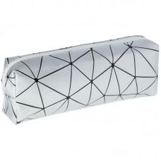 Пенал 200*70*45 ArtSpace Prism, серебряный, ПВХ