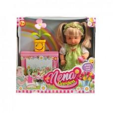 Кукла NENA, тм Dimian, набор с цветком, 36 см