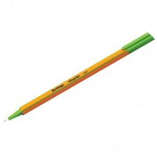 Ручка капиллярная Berlingo Rapido светло-зеленая, 0,4мм, трехгранная