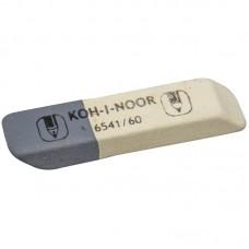 Ластик Koh-I-Noor Sanpearl 60, скошенный, комбинированный, натуральный каучук, 57*14*8 мм