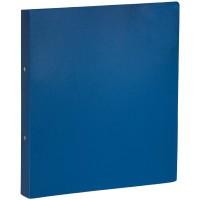 Папка на 2-х кольцах OfficeSpace, 35мм, 500мкм, синяя