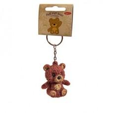 Игрушка-антистресс тянучка Pull Pull Bear Мишка, 2 вида на брелке