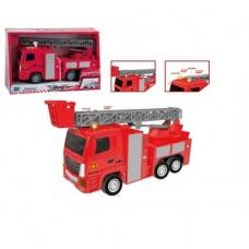 Пожарная машина инерционная, звуковые и световые эффекты