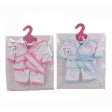 Одежда для кукол Банный халатик