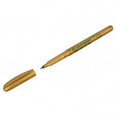 Маркер для декорирования Centropen 2670 золото, пулевидный, 1мм
