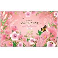Альбом 32л А4 на скрепке Цветы. Magic flowers