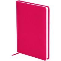 Ежедневник недатированный A5 136л, кожзам, OfficeSpace Winner, ярко-розовый