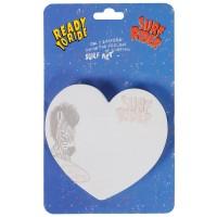 Самоклеящийся блок фигурный Сердце, 75л, SWAG, 70*70мм