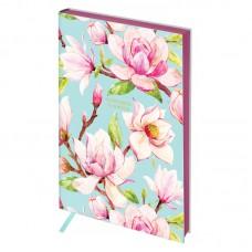 Записная книжка А5 80л, кожзам, Greenwich Line Vision. Magnolia, тон. блок, цв. срез