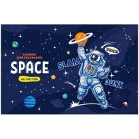 Альбом 40л А4 на скрепке Космос. Space missione