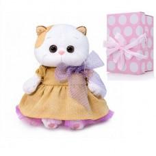 Мягкая игрушка Budi Basa Кошечка Ли-Ли Baby в золотом платье, 20 см
