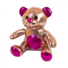 Мягкая игрушка Металлик Медведь коричневый, 18 см