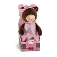 Мягкая игрушка Orange Toys Медведь девочка Milk Блеск 25 см