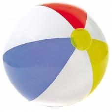 Надувной мяч Цветные дольки, 51 см