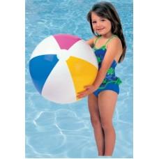 Надувной мяч Цветные дольки, 61 см