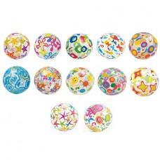 Надувной мяч Lively Print Balls, 51 см