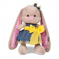 Мягкая игрушка Стиляги - Зайка Лин в синем платье, 25 см