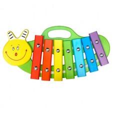 Ксилофон Улитка 7 нот, окрашенный