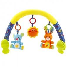 Дуга на коляску УМКА (3 игрушки в комплекте)