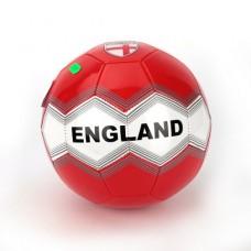Мяч футбольный лакированный, размер 5, материал ПВХ, 1 слой, 270г, СБОРНАЯ АНГЛИИ