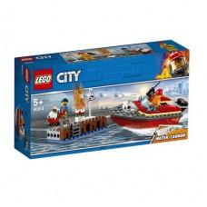 Конструктор LEGO City Пожар в порту
