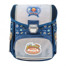 Ранец (рюкзак) школьный DINOSAUR TRAIN, жесткая рельефн. спинка, светоот. элементы