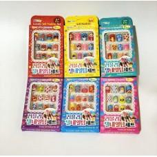 Набор для декорирования ногтей, 6 видов в ассортименте