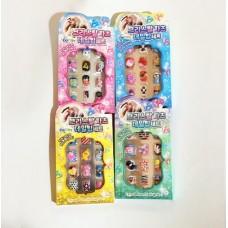 Набор для декорирования ногтей, 4 вида в ассортименте