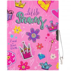 Записная книжка B6 64л. ArtSpace Little princess, метал. замок