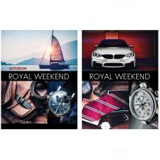 Блокнот А5 80л. BG Royal Weekend, глянцевая ламинация