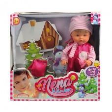 Кукла NENA 36 см, тм Dimian, зимний набор