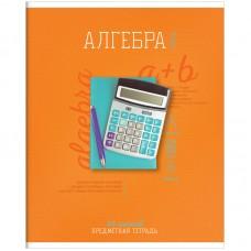 Тетрадь предметная 48л Предметный мир - Алгебра, ТВИН-лак