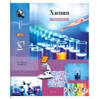 Тетрадь предметная 48л Мой мир - Химия, ВД-лак