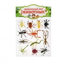 Игровой набор из 12 насекомых
