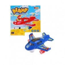 Самолет на бат. свет+звук WH-3044 в кор.