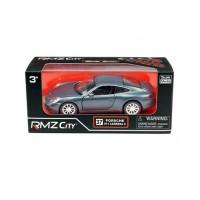 Машина металлическая RMZ City 1:32 Porsche 911 Carrera S (2012), инерционная, темно-синий матовый цвет, 16.5 x 7.5 x 7 см