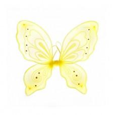 Приставные крылья Бабочка, желт.