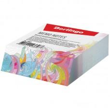 Блок для записи декоративный на склейке Berlingo Абстракция, 9*11*3см