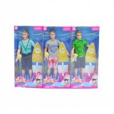 Кукла Сёрфер с аксессуарами, 15х5х33 см
