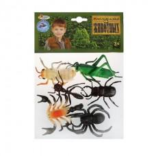 Набор из 6 насекомых ИГРАЕМ ВМЕСТЕ 10см, в ассорт. в пак.