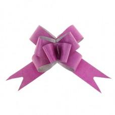 Бант-бабочка №3 Фактура, цвет малиновый