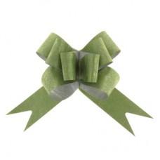 Бант-бабочка №3 Фактура, цвет зелёный