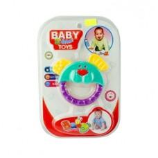 Погремушка с прорезывателем Baby Toys
